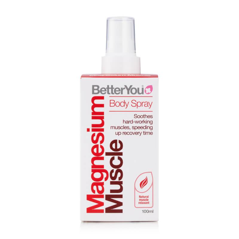 Magnezijevo olje za mišice, magnezij muscle. Prehranska dopolnila. BetterYou, Sitis.