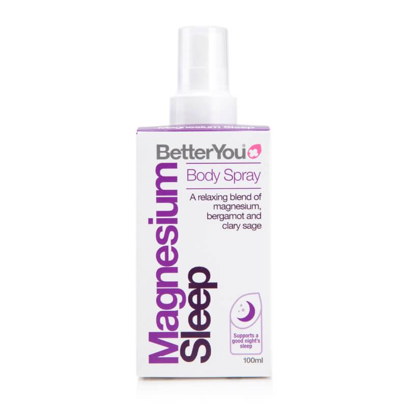 Magnezijevo olje za spanje, pomiritev, magnezij sleep. Prehranska dopolnila. BetterYou, Sitis.