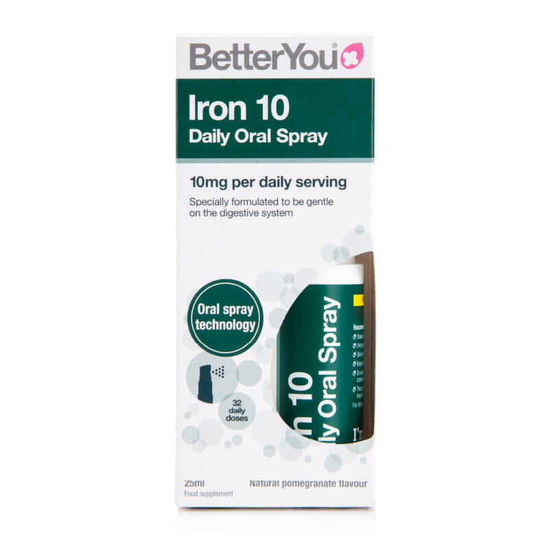Železo v spreju. Iron 10, prehransko dopolnilo v spreju. Sitis, BetterYou.