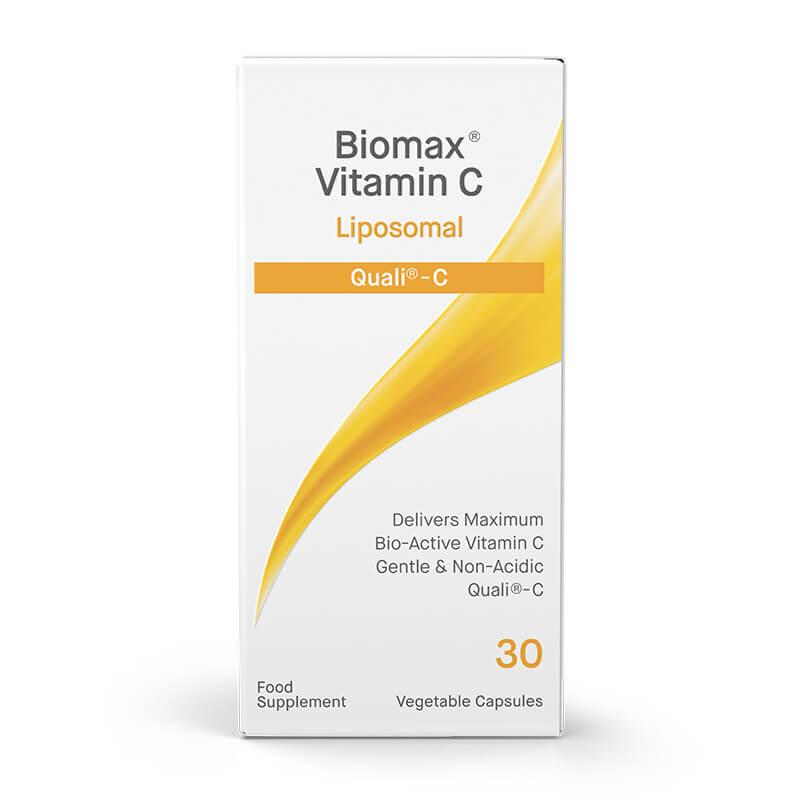 Vitamin C, prehransko dopolnilo. Quali-C® – liposomski vitamin C. Sitis, Biomax.