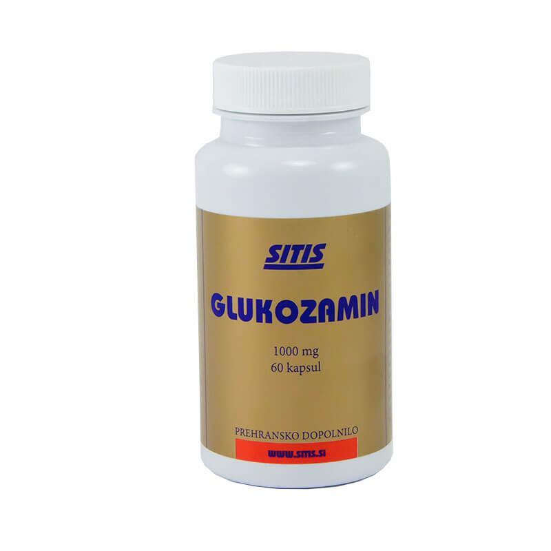 Glukozamin 60 kapsul. Prehranska dopolnila Sitis.