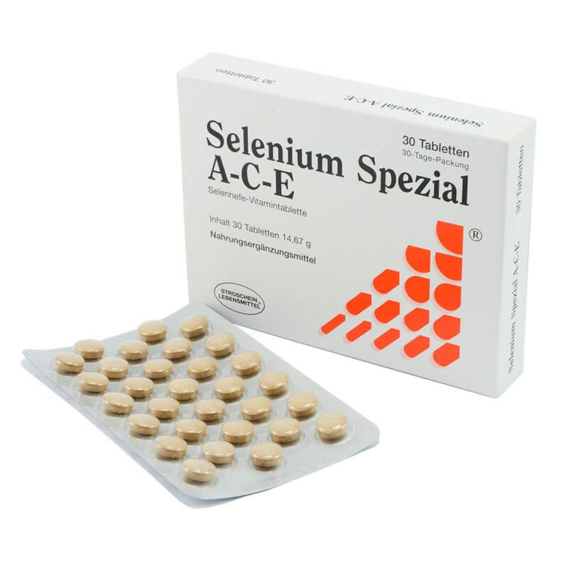 Selen A-C-E 30 tablet. Prehranska dopolnila Sitis.