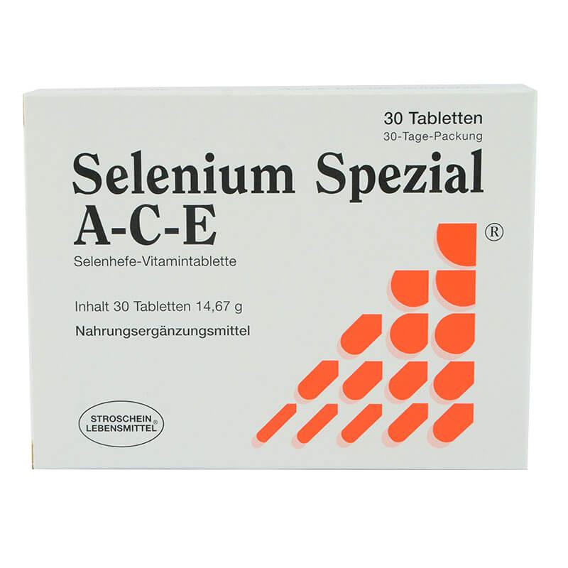 Selen A-C-E, 30 tablet. Prehranska dopolnila Sitis.